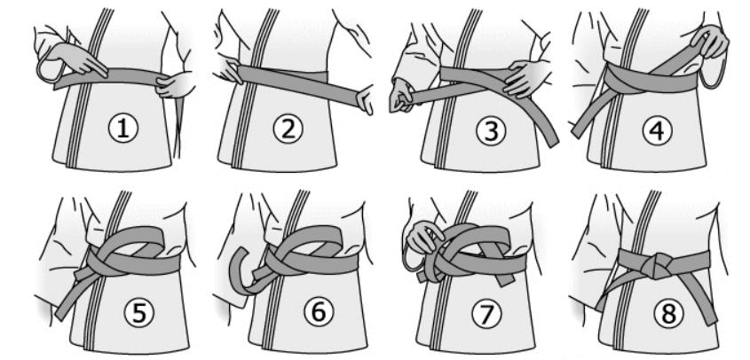 Comment faire un nœud de ceinture